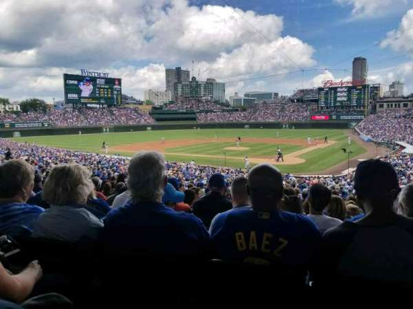 Wrigley Field, section: 215, row: 7, seat: 19