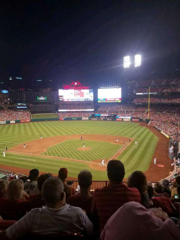 Busch Stadium, section: 252, row: 8, seat: 10