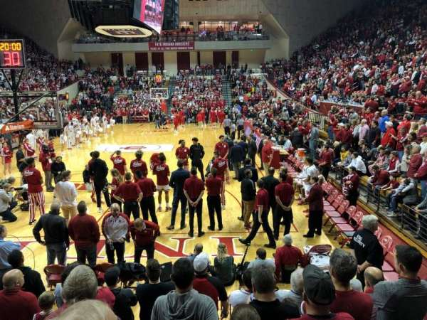 Assembly Hall (Bloomington), section: 5, row: 9, seat: 104