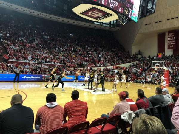 Assembly Hall (Bloomington), section: 9, row: 3, seat: 119