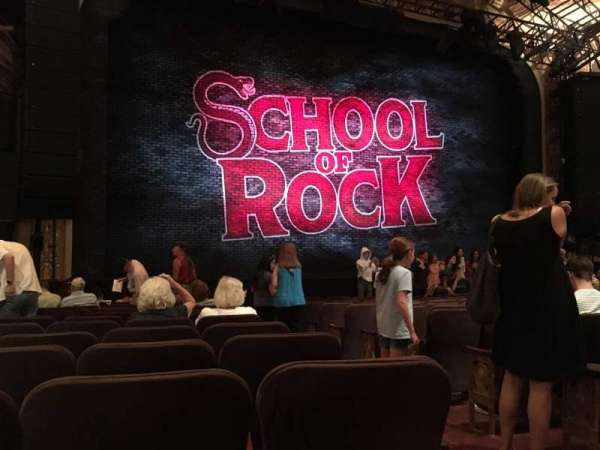Winter Garden Theatre, section: ORCH, row: M, seat: 3