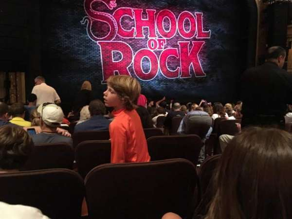 Winter Garden Theatre, section: ORCH, row: M, seat: 5