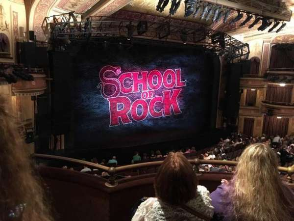 Winter Garden Theatre, section: Mezzanine LC, row: C, seat: 131