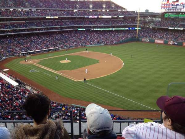 Citizens Bank Park, section: 310, row: 3, seat: 1