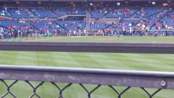 Citizens Bank Park, section: 103, row: 2, seat: 2