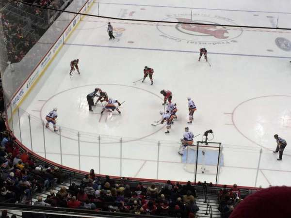 Prudential Center, section: 104, row: 2