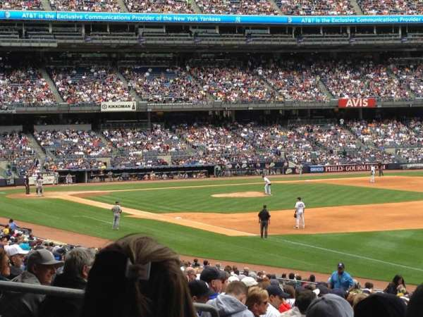 Yankee Stadium, section: 110