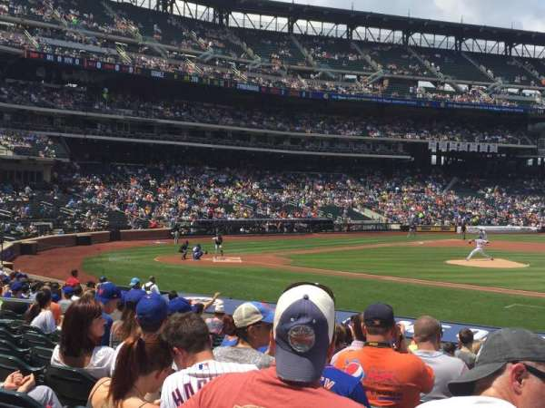 Citi Field, section: 113, row: 17, seat: 17