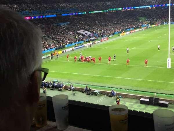 Twickenham Stadium, section: M45, row: 52, seat: 173