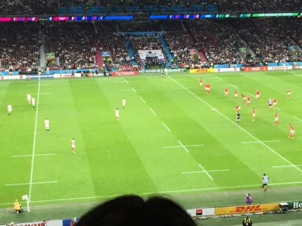 Twickenham Stadium, section: M35, row: 67, seat: 303