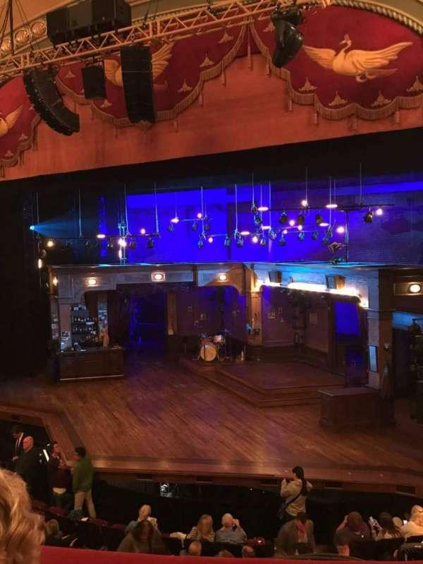 Bernard B. Jacobs Theatre, section: Mezzanine R, row: B, seat: 6
