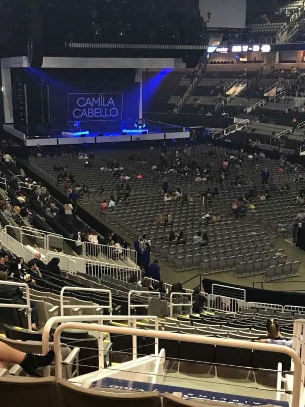 SAP Center, section: 110, row: 24, seat: 18