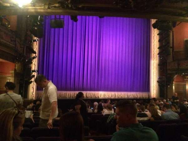 Lyceum Theatre (Broadway), section: Orchestra Left, row: O, seat: 5