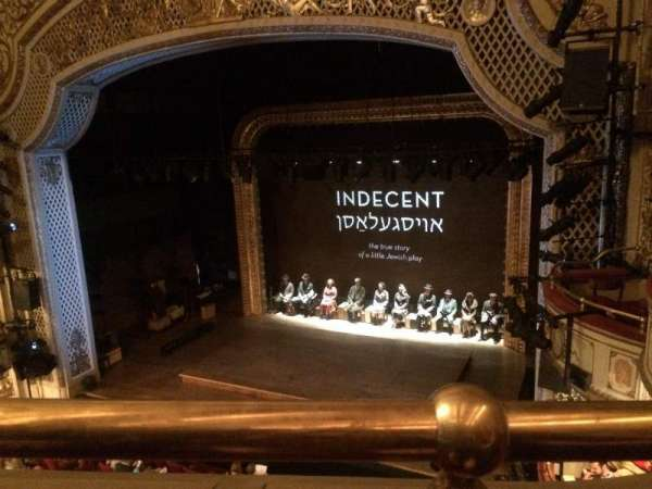 Cort Theatre, section: Balcony, row: A, seat: 10