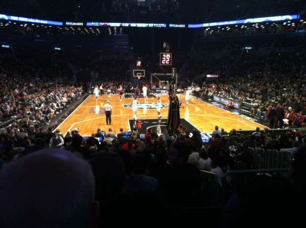 Barclays Center, section: 16, row: 12, seat: 15