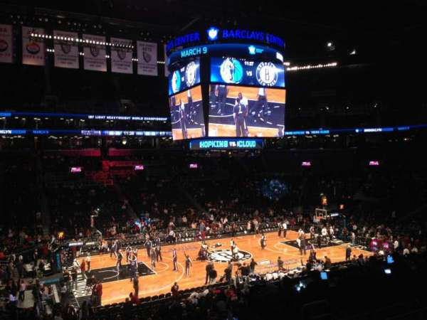 Barclays Center, section: 110, row: 8, seat: 6