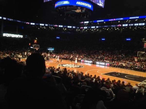 Barclays Center, section: 22, row: 10, seat: 5