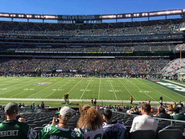 MetLife Stadium, section: 111c, row: 25, seat: 5
