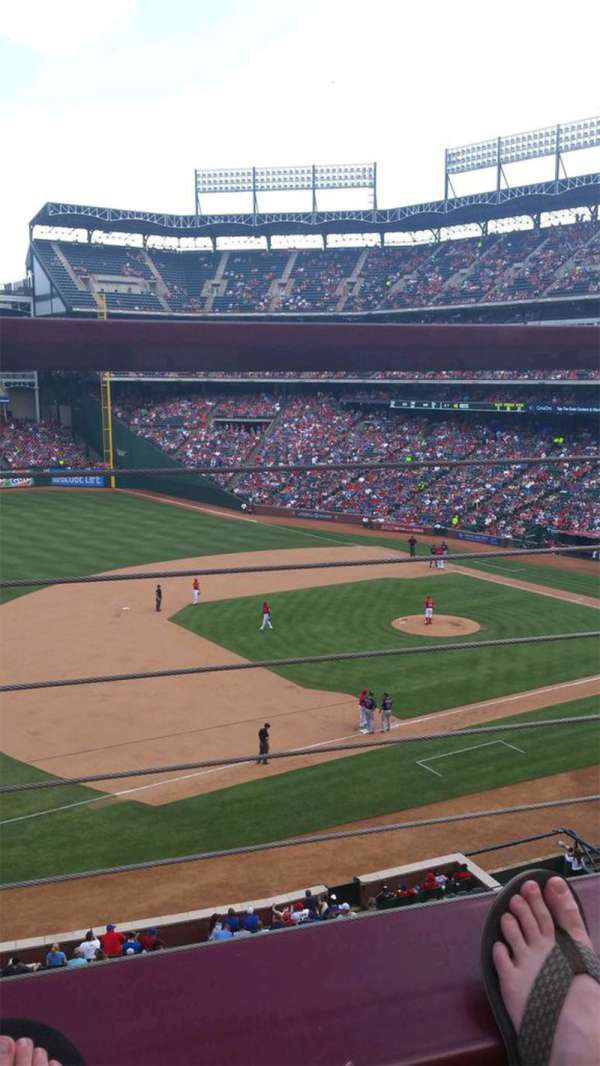 Globe Life Park in Arlington, section: 216, row: 1, seat: 10