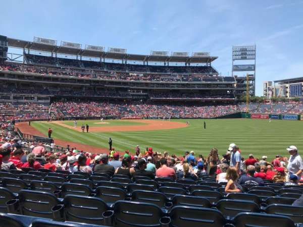 Nationals Park, section: 136, row: DD, seat: 11