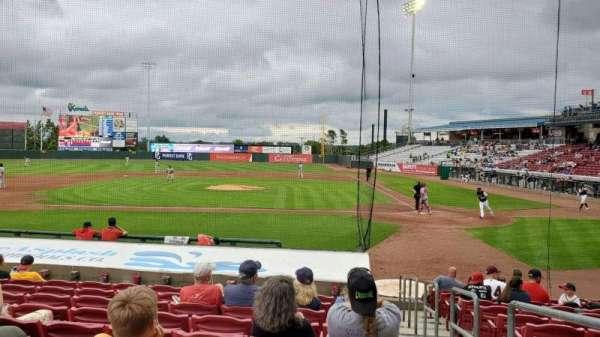 Veterans Memorial Stadium (Cedar Rapids), section: 115, row: N, seat: 14