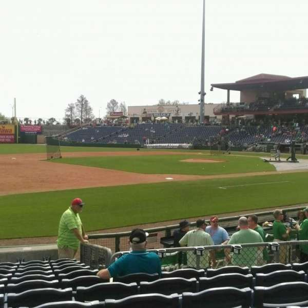 BayCare Ballpark, section: 118, row: 12, seat: 9