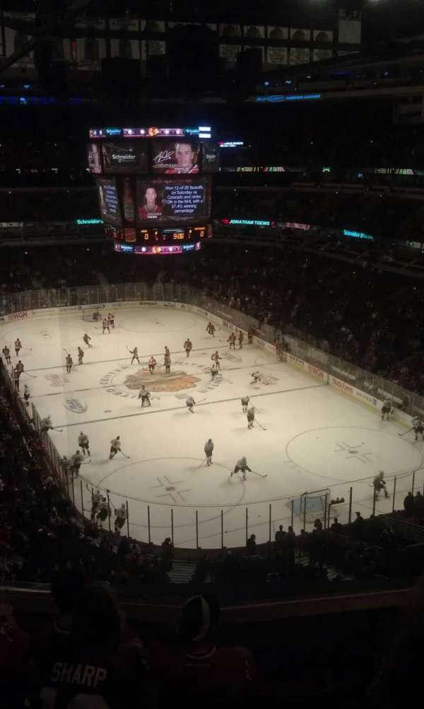 United Center, section: 328, row: 5, seat: 7