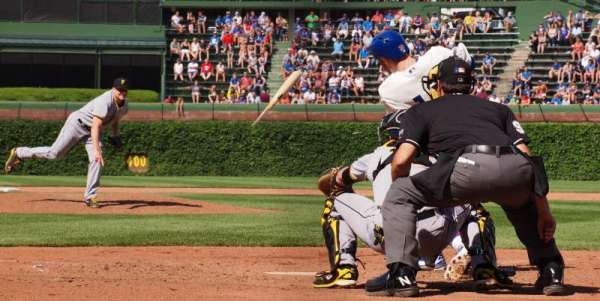 Wrigley Field, section: AA18, row: 1, seat: 4