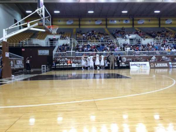 Stabler Arena, section: Courtside