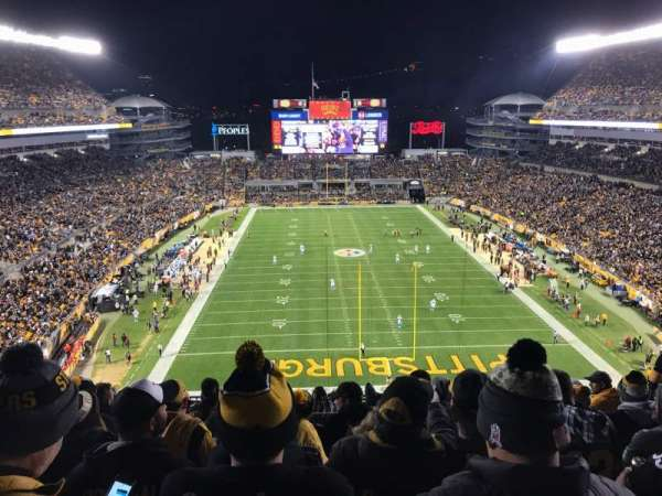 Heinz Field, section: 522, row: N, seat: 14