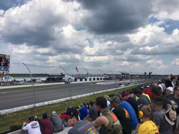Pocono Raceway, section: 140, row: 9, seat: 20