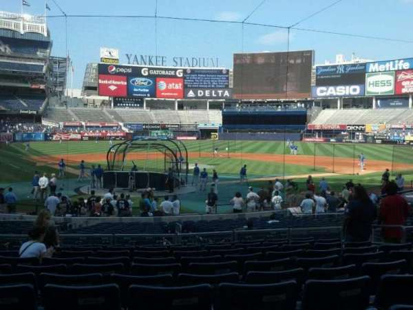 Yankee Stadium, section: 119, row: 22, seat: 9