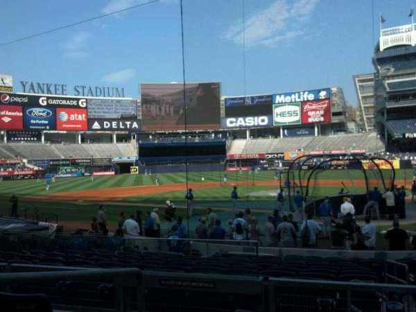 Yankee Stadium, section: 121a, row: 16, seat: 10