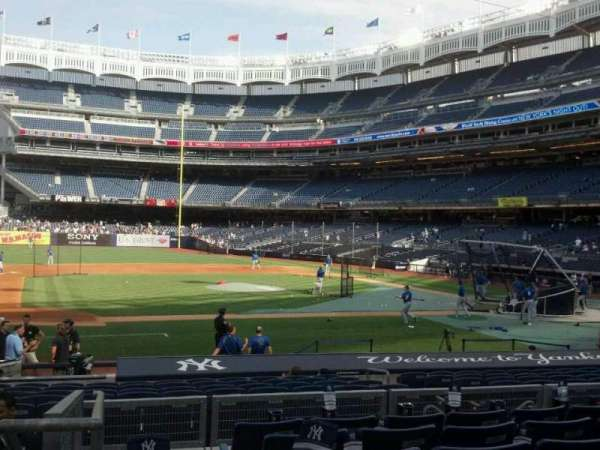 Yankee Stadium, section: 124, row: 18, seat: 18