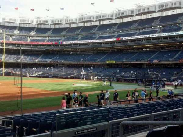 Yankee Stadium, section: 127a, row: 15, seat: 4