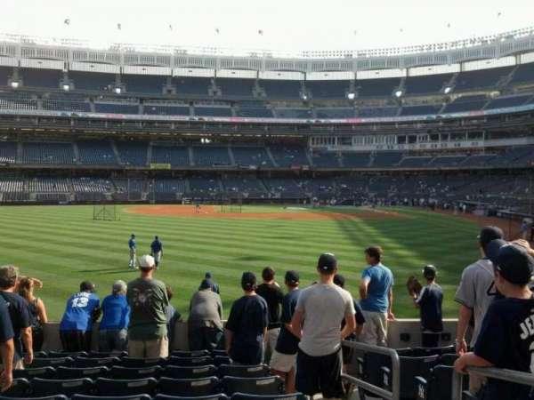 Yankee Stadium, section: 135, row: 19, seat: 2