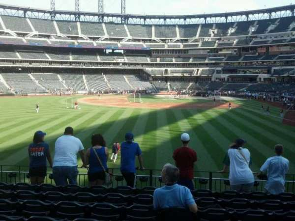 Citi Field, section: 135, row: 8, seat: 10