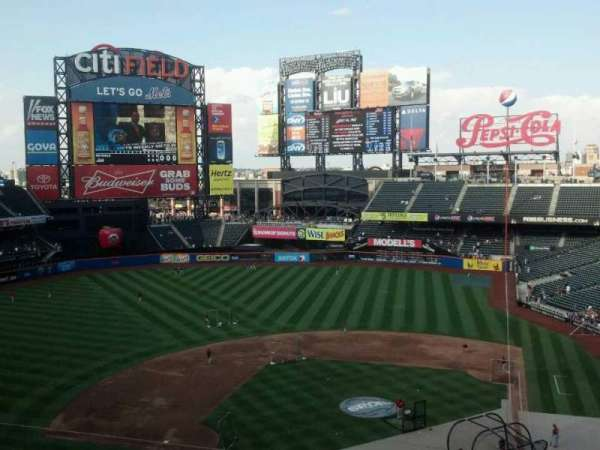 Citi Field, section: 419, row: 2, seat: 8