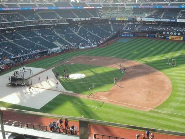 Citi Field, section: 406, row: 2, seat: 7