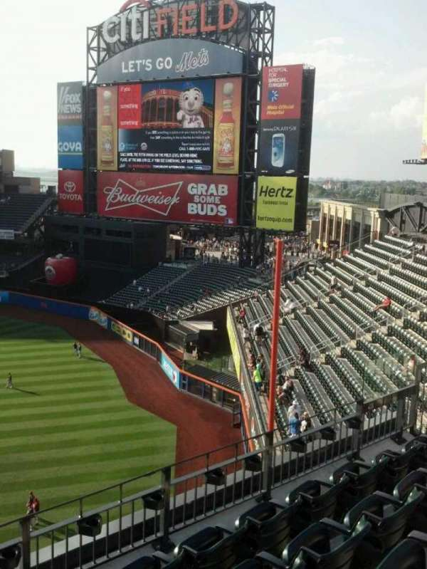 Citi Field, section: 401, row: 5, seat: 2