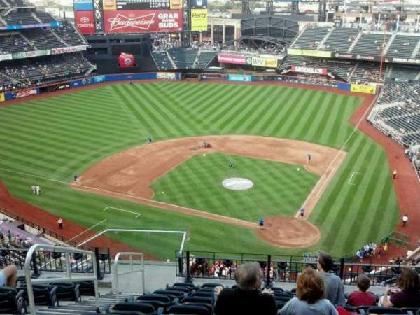 Citi Field, section 517, home of New York Mets on