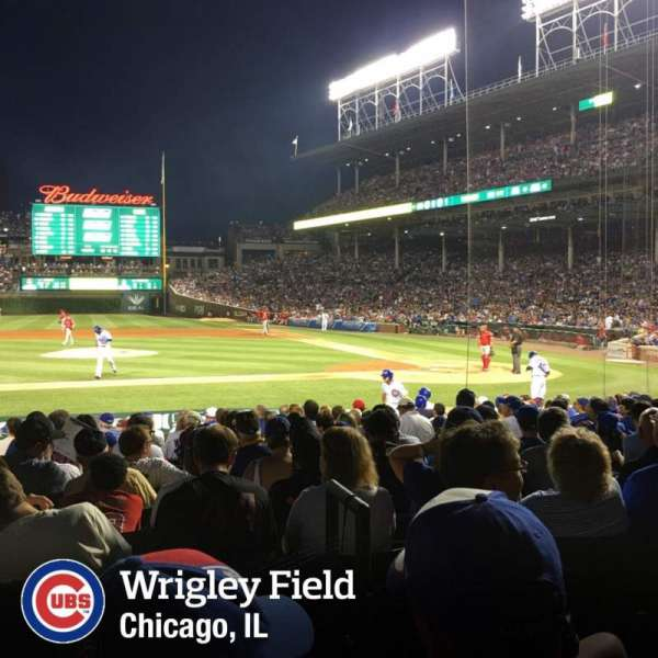 Wrigley Field, section: 115, row: 2, seat: 102