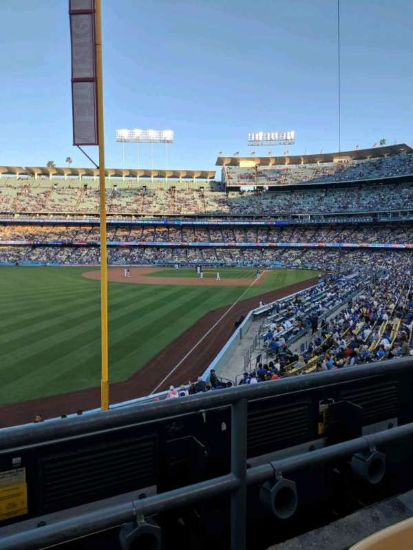 Dodger Stadium, section: 163LG, row: b
