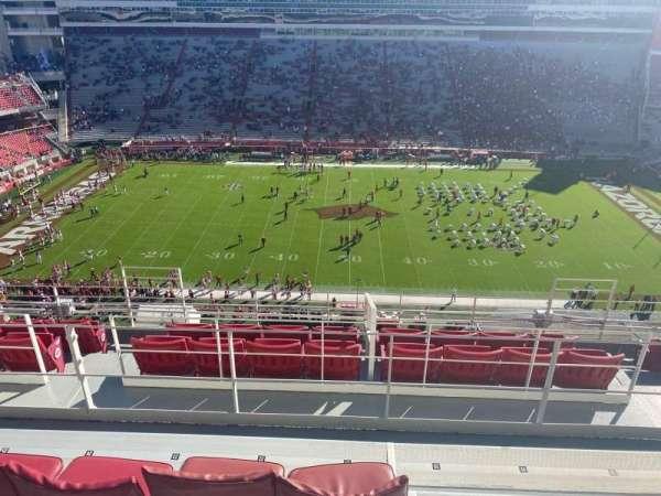 Razorback Stadium, section: 504, row: 5, seat: 21