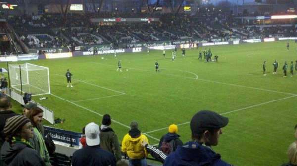 Providence Park, section: 111, row: I, seat: 7