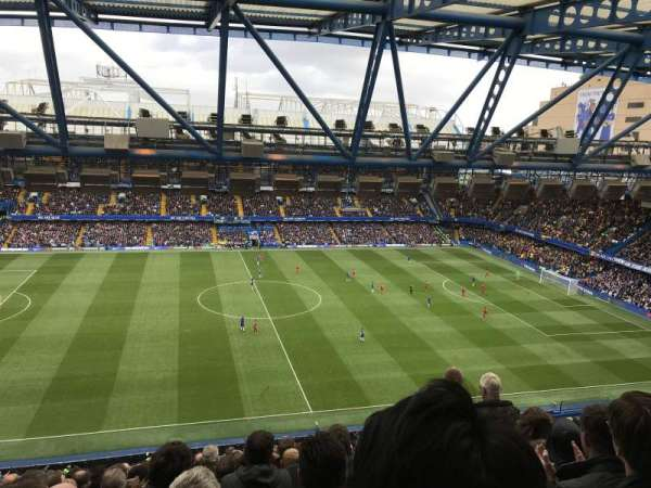 Stamford Bridge, section: West Stand Upper 6, row: 17, seat: 134