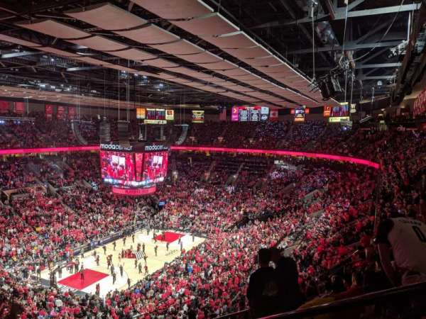 Moda Center, section: 323, row: K, seat: 2