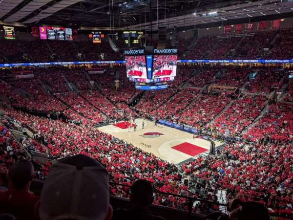 Moda Center, section: 314, row: C, seat: 2