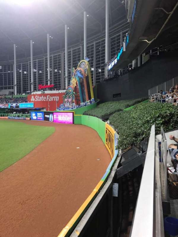 Marlins Park, section: 36, row: A, seat: 5