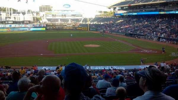 Kauffman Stadium, section: 221, row: JJ, seat: 13